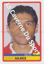 N°039 SERGIO GALARZA # BOLIVIA STICKER PANINI COPA AMERICA VENEZUELA 2007