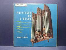 ROBERT OWEN Prestiges de l'orgue BACH LISZT ... RCA VICTOR 430627S