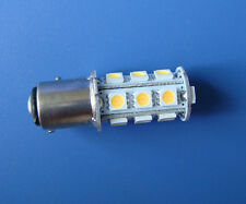10x Warm White BAY15D 1157 Marine lights boat bulb 18-5050SMD LED AC/DC 12~24V