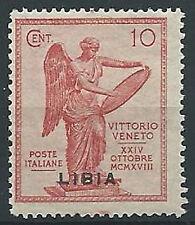 1922 LIBIA VITTORIA 10 CENT MNH ** - ED209