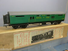"VINTAGE HAMBLING'S (00)  MODEL OF A     SR ""ROYAL MAIL""  SORTING COACH    VN MIB"