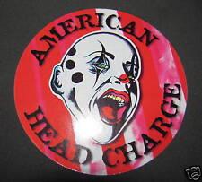 "American Head Charge Feeding Sticker Music 4 1/2"" Promo"