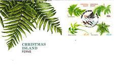 2012 Christmas Island Ferns FDC - Christmas Island WA 6798 PMK