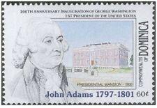DOMINICA SERIES AMERICAN PRESIDENTS JOHN ADAMS 1v. MINT ** MNH