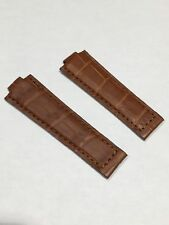 Alligator Strap For Rolex Datejust and Professional Model Brown - Cinturino