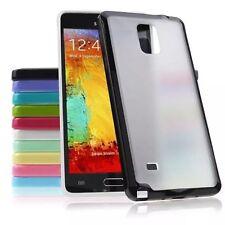 Samsung Galaxy Note3 4 5 Slim Shock Proof Cover Case TPU Bumper Matte Clear Back