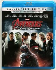 MARVEL AVENGERS AGE OF ULTRON 3D/2D BLU RAY 2 DISC SET COLLECTORS EDITION BUY IT