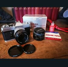 Canon FTb 35mm Film SLR Manual Camera Kit 3 x lens Canon 50mm F1.8 + Tamron 28mm