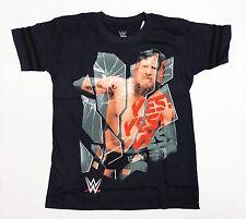 WWE Daniel Bryan - Yes Yes Yes - Boys Medium Navy Blue T-Shirt (Ages 8-12)
