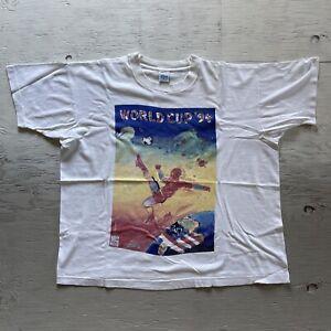 vintage peter max Salem 1994 world cup USA Shirt XL -USA Made -single Stitch