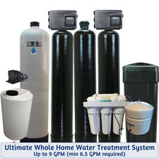 Ultimate Whole House Water Treatment System PLUS Drinking Water -Bacteria-Iron-S