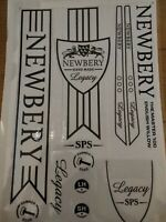 Brand New Superb Quality Newberry cricket legacy Bat Stickers Fast Post