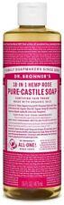 Dr Bronners Organic Rose Castile Liquid Soap 473ml