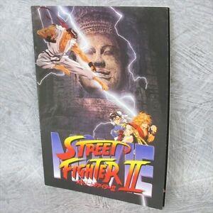 STREET FIGHTER II 2 Movie Art Material Brochure Booklet Book Ltd