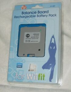 CTA Balance Board Rechargeable Battery Pack 2800 MAH for Wii fit Wi-BBP New
