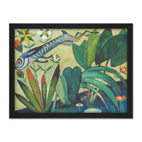 Amadeo De Souza Cardoso The Leap Of The Rabbit Large Framed Art Print