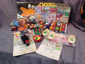 Assort Mcdonald's & Burger King Toys. LARGE LOT!!!