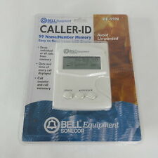 Bell Equipment Sonecor Caller ID BE-99N LCD 99 Name Number Date Time Memory NEW