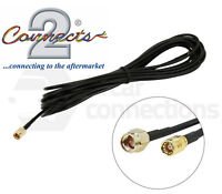 In car DAB radio aerial extension cable lead 5M SMA Male to SMB Female CT27AA183
