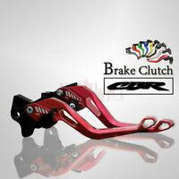 CNC 5D Short Adjustable Motorcycle Brake Clutch Levers for HONDA CBR250R 11-13