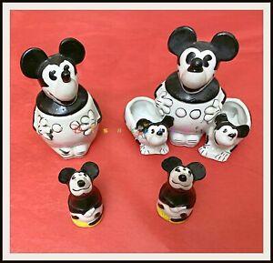 ⭐ MICKEY MOUSE German Porcelain Black/White - 1930s - DISNEYANA.IT ⭐