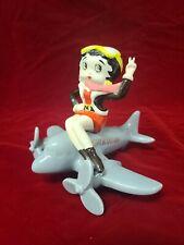 Betty Boop collectible airplane figurine 1993 rare Mgm Grand Air