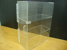Displays2buy 3 Tiers Display With3 Clear Trays Acrylic Bread Donut Bagels Cookie