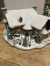Hawthorne Village Thomas Kinkade's Village Christmas Yuletide Bakery #79977
