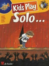 Kids Play Solo Trumpet Sheet Music Book with CD Play Along