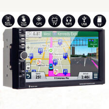 "7"" HD 2Din In-Dash Car GPS Navigation FM Bluetooth Radio Audio Stereo MP5 Player"