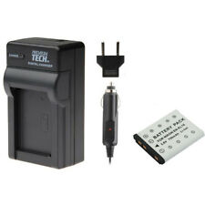 PT EN-EL10 ENEL10 Battery + Charger for Nikon S210 S4000 S3000 S510 S520 S570