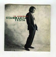 GIANMARIA TESTA CD SINGLE (SEALED)PER ACCOMPAGNARTI