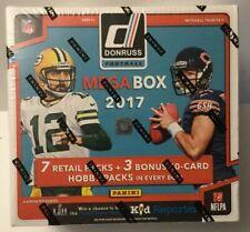 2017 DONRUSS FOOTBALL MEGA 10BOX 1/2 CASE BREAK~LIVE- HOUSTON TEXANS WATSON RC!!