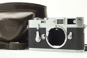 【Almost MINT / Overhauled】 Leica M3 Double Stroke DS Rangefinder 35mm Japan #623