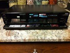 Aiwa Ad-F990U Cassette Deck Rare Black