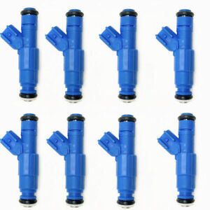 8 x Upgrade Fuel Injectors 2C5E-A4A For Lincoln Aviator Mercury Marauder 4.6L