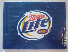 NEW MILLER LITE BEER RUBBER BAR MAT