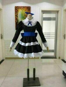 Panty Stocking Maid Dress with Socks Cosplay Costume