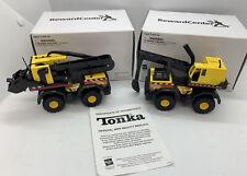 2 Tonka Hasbro Maisto International CRANE (762914) & BACKHOE (762906) Set