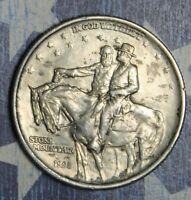 1925 STONE MOUNTAIN COMMEMORATIVE SILVER HALF DOLLAR COLLECTOR COIN