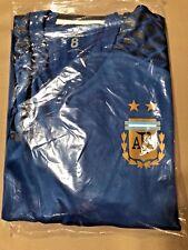 Blue Adidas AFA Argentina (LARGE)  SIZE 8 Adizero Goalie SHORT Sleeve