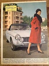 FIAT 1600 S PIninfarina Cabriolet & Pin-Up 1964