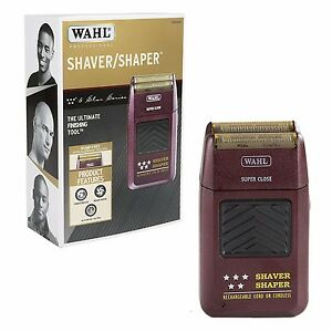 Wahl 8061 Professional 5 Star Cord/Cordless Rechargeable Shaver/Shaper - New