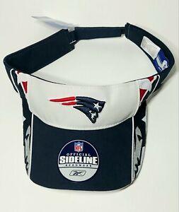 NWT New England Patriots NFL Visor Hat By Reebok