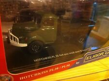 CAMION HOTCHKISS PL20 4x4 BENNE  1/43 ELIGOR  promo
