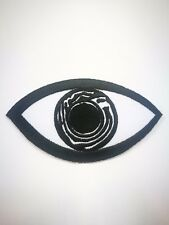 Eye Black Embroidered iron on patch A1727
