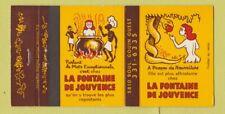 Matchbook Cover - La Fontaine De Jouvence girlie Quebec QC 30 Strike