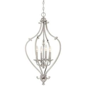 Minka Lavery - Savannah Row 4-Light Chandelier - Brushed Nickel