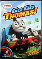 Thomas & Friends Go Go Thomas Brand NEW  DVD Children's Train Engines Raliroad