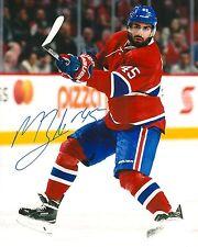 MARK BARBERIO signed MONTREAL CANADIENS 8X10 photo w/ COA